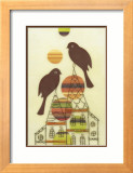 Home Sweet Home Framed Giclee Print by Amy Ruppel