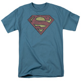 Superman-Gritty Shield T-shirts