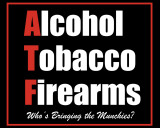 ATF Tin Sign