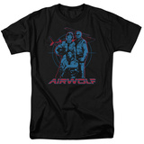 Airwolf-Graphic T-Shirt