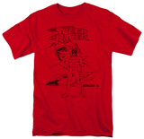 Speed Racer-Racer X Distressed Shirts