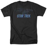 Star Trek-Enterprise Outline Tshirts