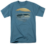 Wildlife - Ocean Gold T-shirts