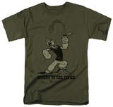 Popeye-Strong To The Finish Shirts