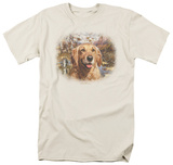 Wildlife - Golden Retriever Head T-shirts