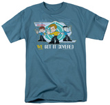 Quogs-We Got It Covered T-shirts