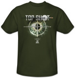 Top Shot-Eye Target Shirts