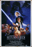 Star Wars- Return of the Jedi Tin Sign