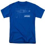 Warehouse 13-Tesla Gun T-shirts