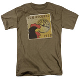 Sun-Distressed Rooster Poster 1952 T-shirts