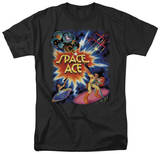 Space Ace-Poster T-Shirt