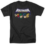 Batman BB-Head Lineup T-shirts