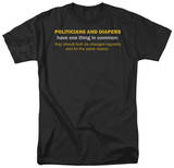 Politicians Like Diapers T-Shirt