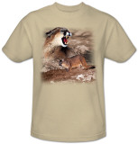 Wildlife-Mountain Lion T-Shirt