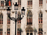 Facade Detail of Provincial Palace (Provinciaal Hof) on Markt Photographic Print by Krzysztof Dydynski