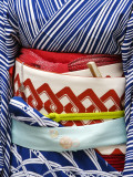 Detail of a Geisha's Sash (Obi), Pontocho Photographic Print by Frank Carter