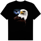 Wildlife-Night Eagle T-Shirt