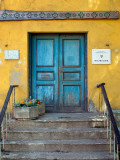 Entrance to Music School in Old Town Photographic Print by Frank Wing