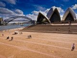 The Sydney Opera House and Harbour Bridge Photographic Print by Glenn Beanland