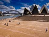 The Sydney Opera House and Harbour Bridge Photographic Print by Glenn Beanland
