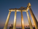 The Temple of Apollon at Night Photographic Print by Izzet Keribar
