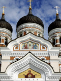 Facade of Saint Alexander Nevsky Cathedral Photographic Print by Manfred Hofer