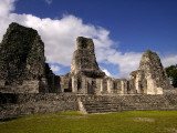 Ruins at Mayan Archaeological Site Photographic Print by Doug McKinlay