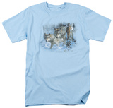 Wildlife - Gray Wolf Brothers T-Shirt