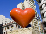 Heart Sculpture at Union Square Park Photographic Print by Christina Lease