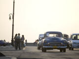 Classic Cars on the Malecon in Late Afternoon Photographic Print by Karl Blackwell