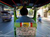 Tuk Tuk Taxi Photographic Print by Jean-pierre Lescourret