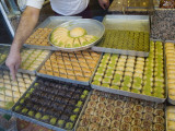 Traditional Turkish Sweet Pastries Photographic Print by Olivier Cirendini