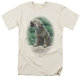 Wildlife - Timberwolf In Training T-shirts