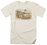 Wildlife - Pointer & Bobwhite Quail T-shirts