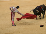 Bullfight at Plaza De Toros De Valencia Photographic Print by Krzysztof Dydynski