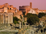 Roman Forum from Capitoline Hill Photographic Print by Glenn Beanland