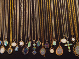 Opal Necklaces Photographic Print by David Wall