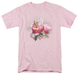 Wildlife - Monarch And Rose T-shirts
