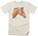 Wildlife - Red Bay Horse T-shirts