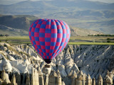 Balloon Ride over Capadoccia Photographic Print by Mark Avellino