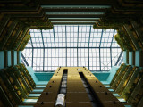 Looking Skyward in Atrium of Hotel Panorama, Miramar District Photographic Print by Christian Aslund