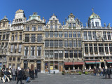 Historic Guildhalls on Grand Place Photographic Print by Craig Pershouse
