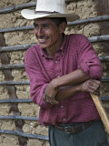 Portrait of Farmer Photographic Print by Diego Lezama