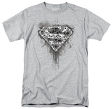 Superman-Many Super Skulls T-shirts