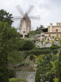 Windmill and Private Gardens Photographic Print by Holger Leue