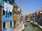 Colourful Houses by Canal Photographic Print by Christopher Groenhout
