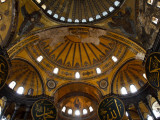 Interior of the Church of the Divine Wisdom at Aya Sofya Photographic Print by Kimberley Coole