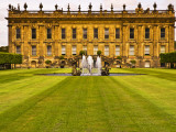 Historic Chatsworth House and Gardens Photographic Print by Glenn Beanland