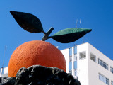 Monument of Fruit in Farming Town of Kumluca Photographic Print by Dallas Stribley