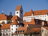 Hohes Schloss (High Palace) Castle, from Schwangauer Strasse Fotografie-Druck von Glenn Van Der Knijff
